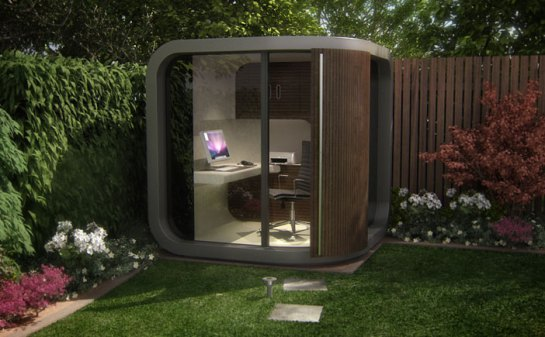 office pod. I Wonder If Could Convince My Company To Buy An Office POD And Let Me Work From Home. Oh Would So Hard Had POD. Pod