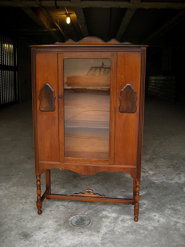 flickr 1930s wlanut china cabinet brooklyn vintage