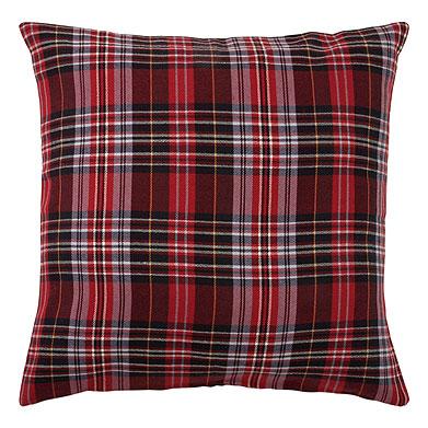 zara tartan cushion