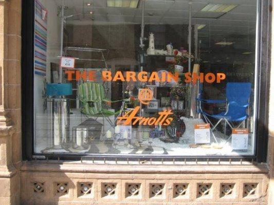 bargainstore front