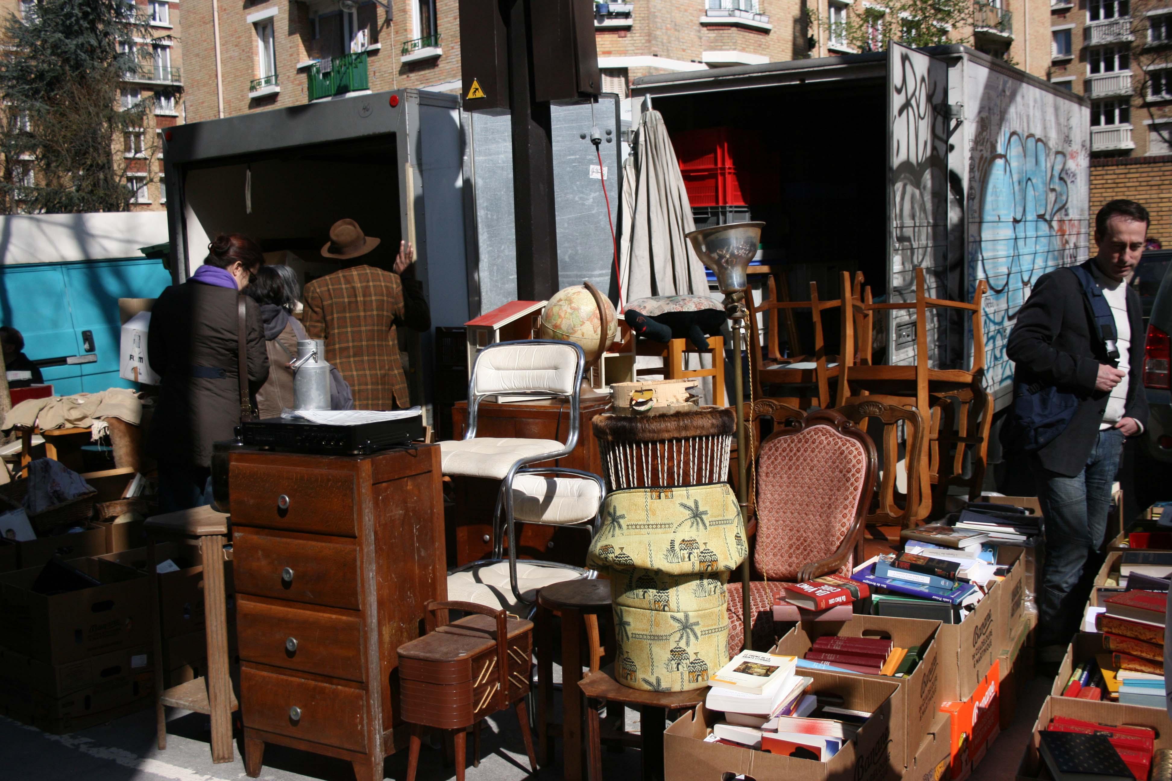 Paris marches aux puces de la porte de vanves - Marche aux puces de la porte de vanves ...